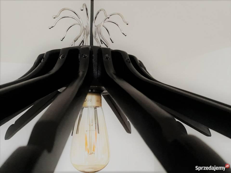 Lampa sufitowa loftowa czarny mazowieckie