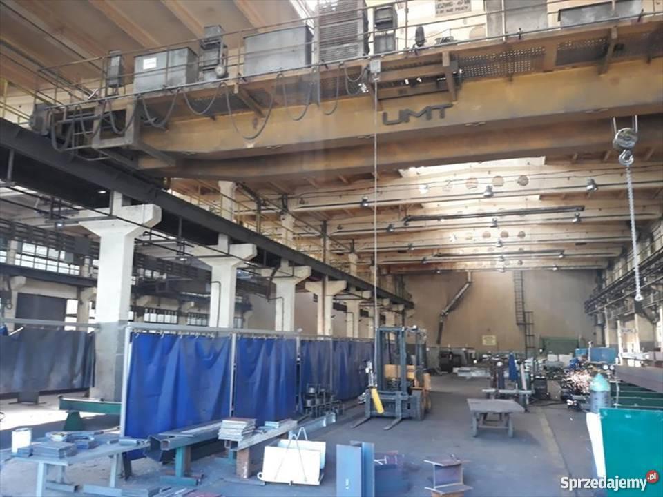 Suwnica sz. 3 x 5 ton KRAKÓW Hala produkcyjna 5000 - 4800 m2