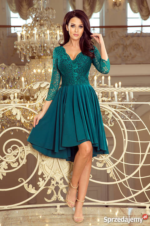 beb034b90116f1 JOKA NICOLLE sukienka zielona koronka S M L XL Mykanów. JOKA NICOLLE  sukienka zielona koronka S M L XL Spódnice i sukienki śląskie