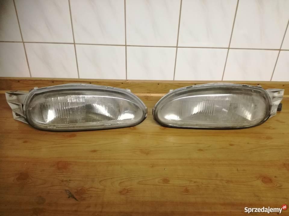 Lampy przednie Nissan 100 NX mazowieckie Żyrardów sprzedam