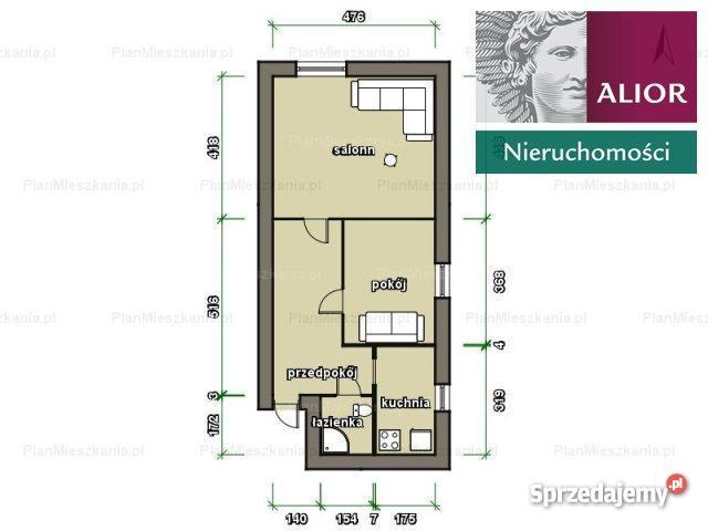 mieszkanie 4970m2 2 pokoje Chorzów cegła sprzedam
