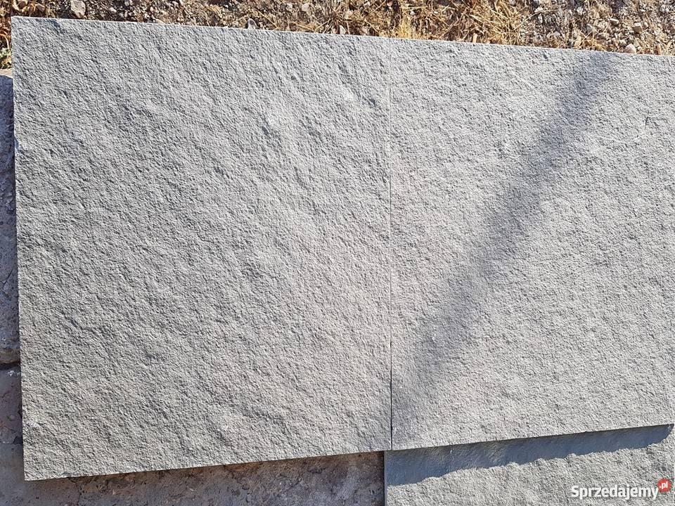 Płyty Kamienne Tarasowe 60x60cm Z Wapienia Szarego Grey