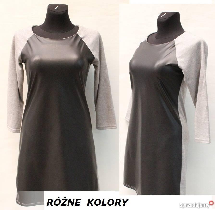 1973dd7c35 Nowe Duże tuniki dresowe sukienki z lateksem 46 48 + gratis Warszawa ...