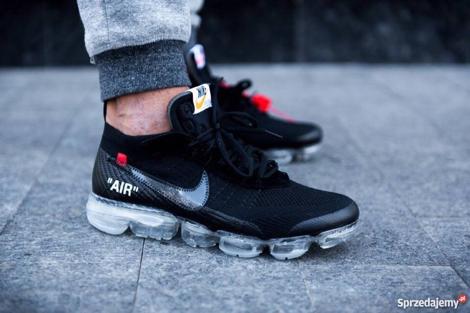 classic fit top brands shopping Off-White x Nike Air VaporMax Black r41-45