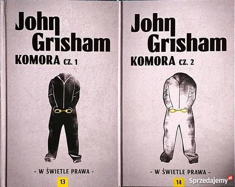 KOMORA CZĘŚĆ 1 2 GRISHAM JOHN zachodniopomorskie Koszalin sprzedam