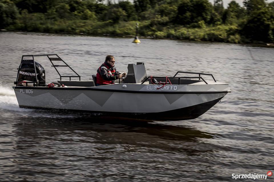 Aluminiowa łódź JTECH F17 pomorskie Gdańsk sprzedam