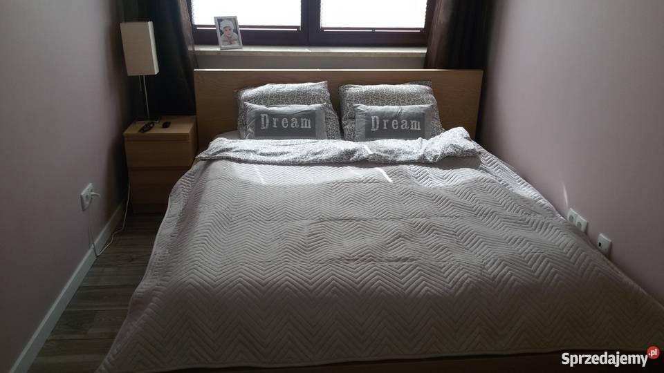 Meble Do Sypialni Ikea Malm łóżko Komoda Półka Nocna