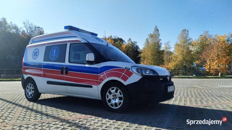 Ambulans, karetka Fiat DOBLO, bardzo dobry stan