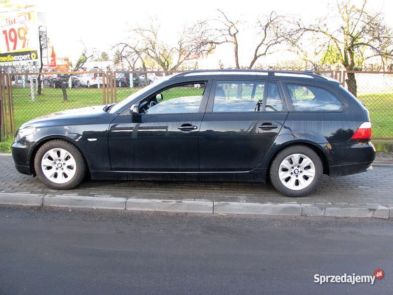 Nieuszkodzony BMW 525 E60 automatyczna skrzynia aluminiowe felgi Włocławek sprzedam
