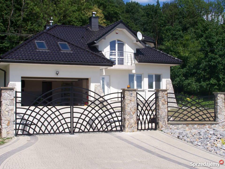 Ogrodzenia brama barierka brama przesuwna Gorlice