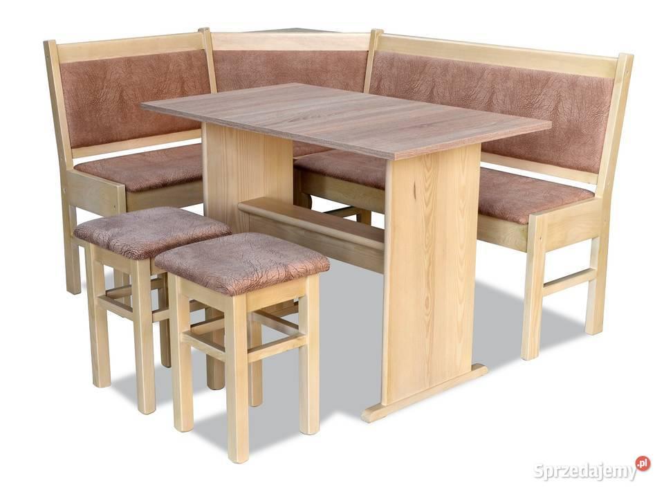 Rogówka narożnik kuchenny stół/ława