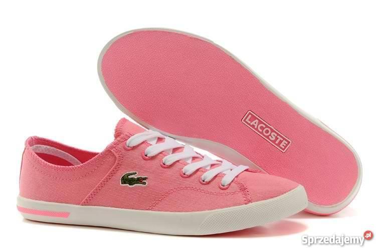 736bc48f7 Lacoste buty damskie różowe 36 37 38 39 40 wys gratis Katowice ...