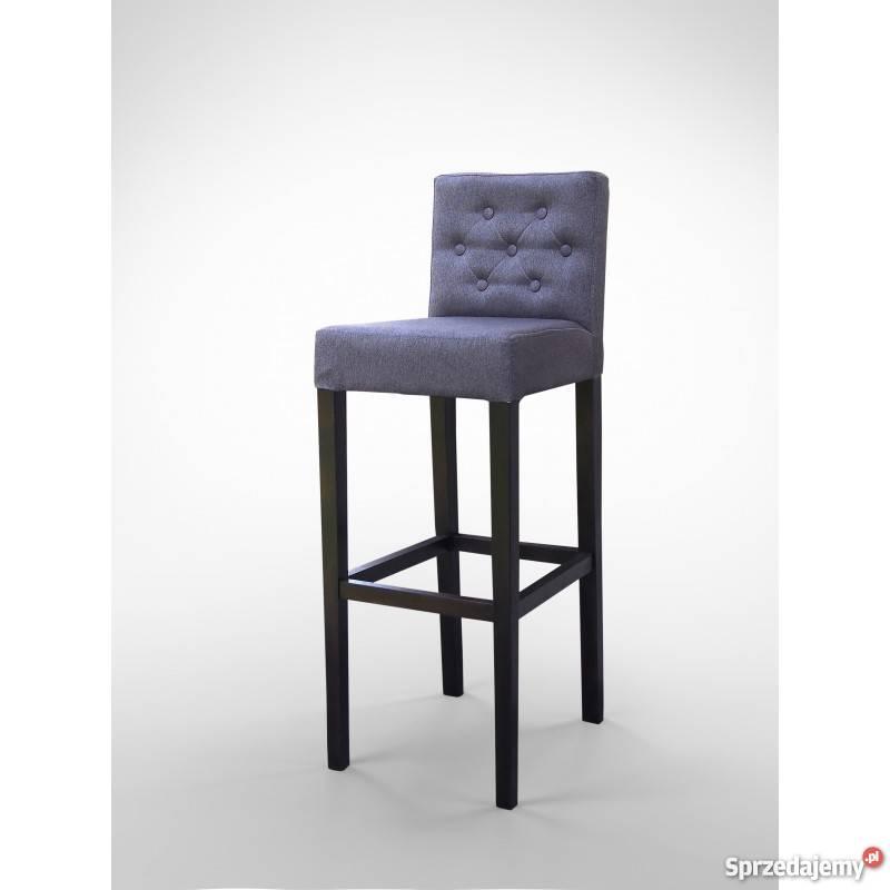 Stylowy Hoker Krzesło Barowe Pikowany Do Jadalni