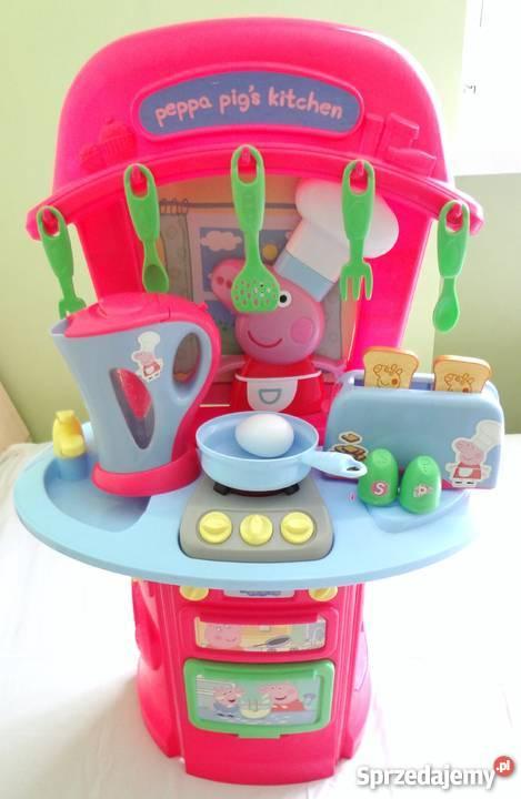 Kuchnia Kuchenka Dla Dziecka świnka Peppa Pig Toster Czajnik