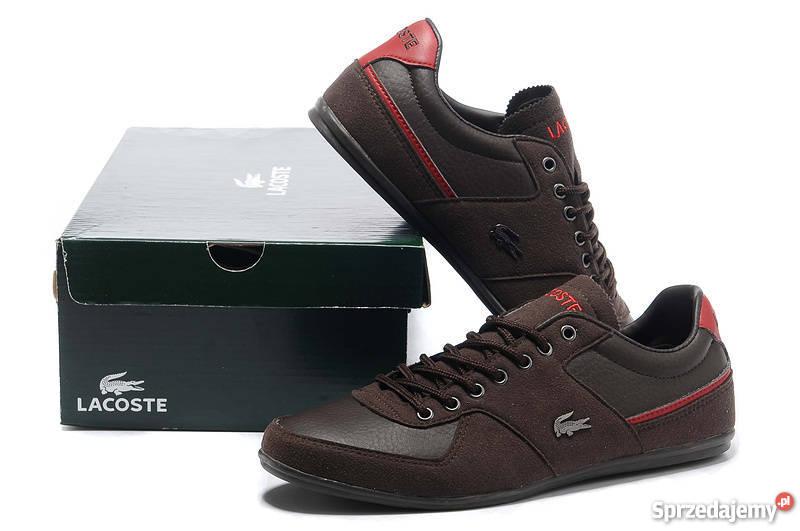 b36114dbb5d52 Lacoste męskie brązow buty 40 41 42 43 44 45 46 wys gratis Katowice ...