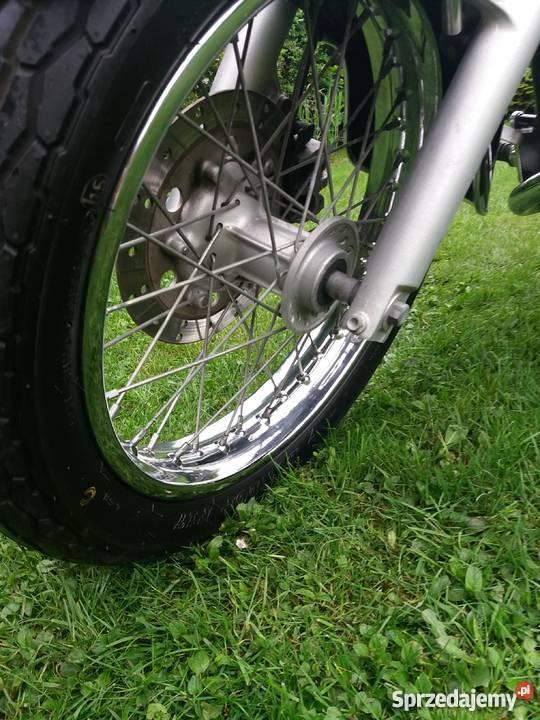 Piękna Honda Shadow VT 125 Łobzów