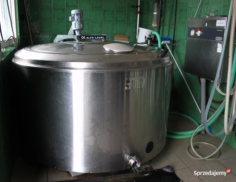 Schładzalnik chłodnia do mleka 800l AlfaLaval Stanisławki sprzedam