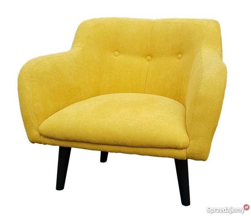 Fotel uszak w stylu skandynawskim wypoczynkowy Warszawa sprzedam
