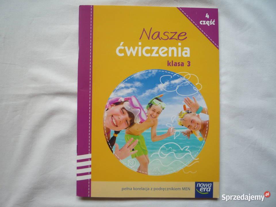 Nowe Nasze Ćwiczenia 3 cz. 4 j. polski Nowa Era