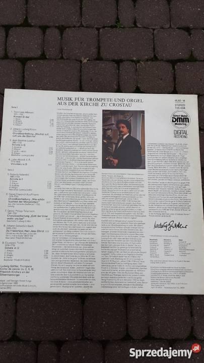Płyta winylowa Ludwig GuttlerMusik fur Trompete 1 płyta mazowieckie