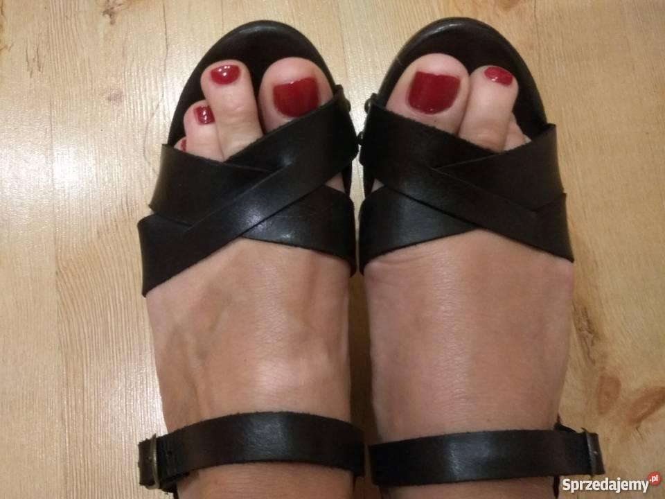 sandały skorzane z hiszpani