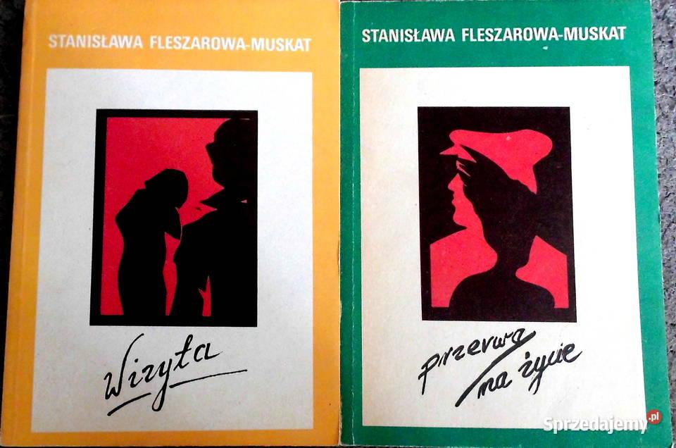 Stanisława Fleszarowa-Muskat - komplet 3 książek