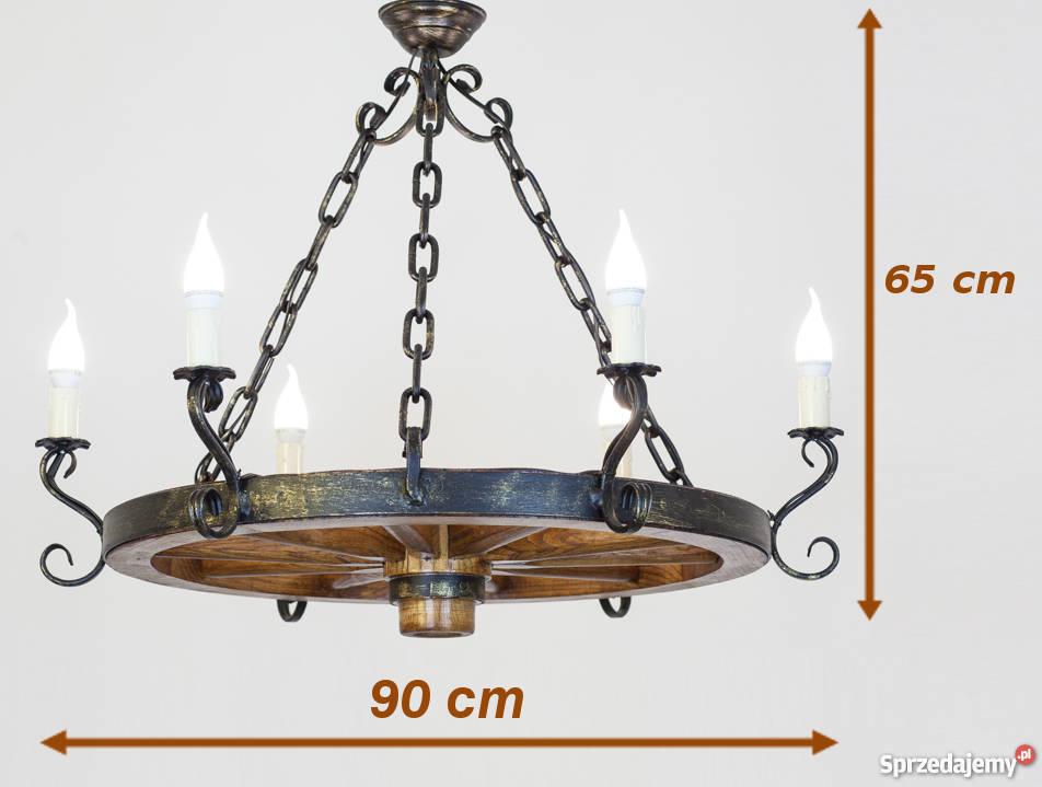 Jak Wybrać Odpowiednią Lampę Do Altany żyrandol Z Koła