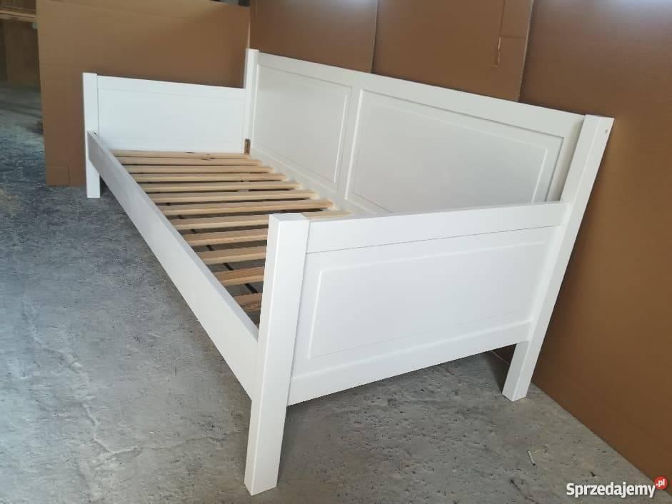 Łóżko dziecięce białe 80x180