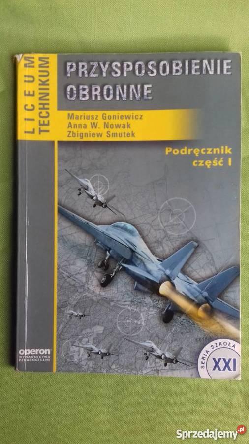Przysposobienie obronne podręcznik część 1 i 2