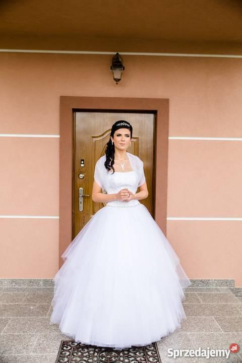Bajkowa Suknia ślubna Wrocław Sprzedajemypl