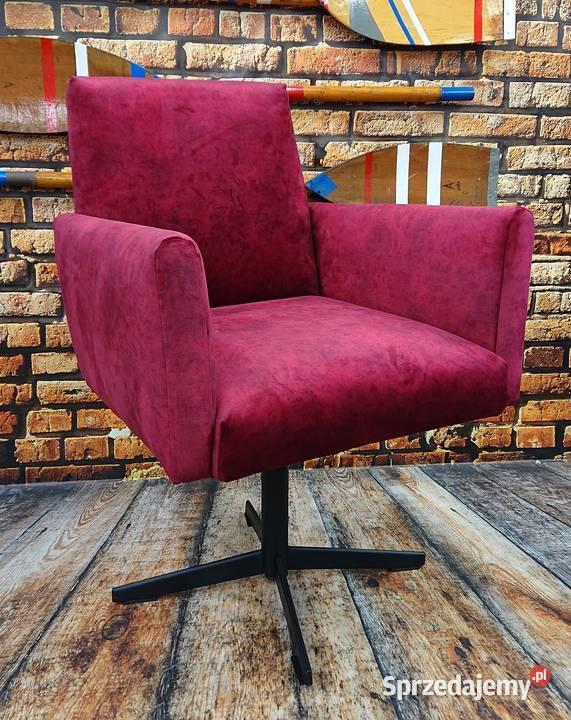 Fotel, fotel obrotowy, fotel prl, fotel lata 60