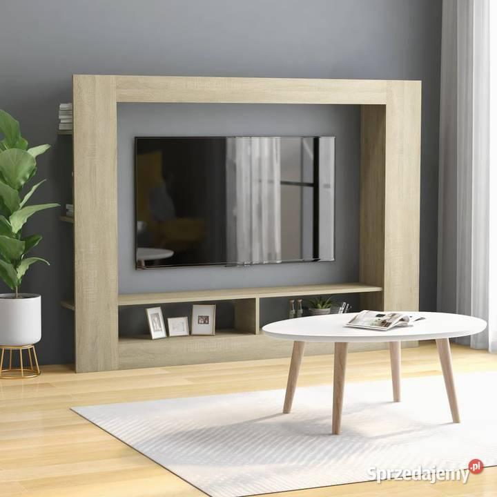 vidaXL Szafka TV, dąb sonoma, 800741