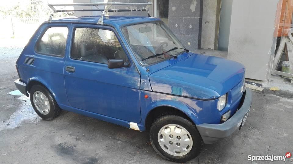 Sprzedam Fiat 126P 1999 r Maluch sprawny Pyskowice