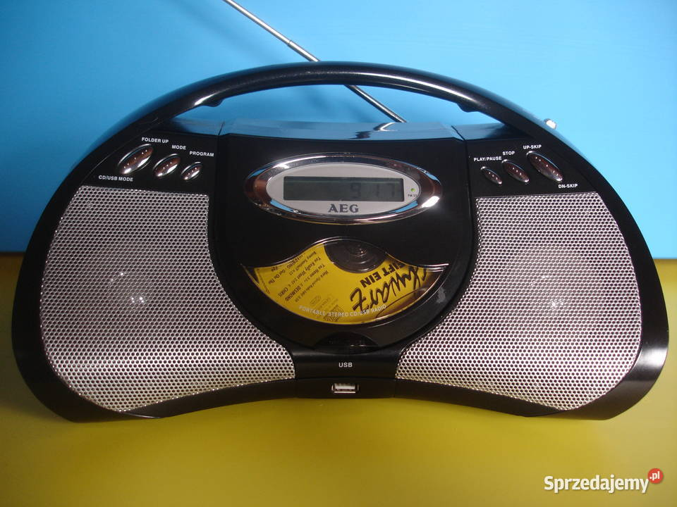 Radioodtwarzacz z CD AEG SR-4310