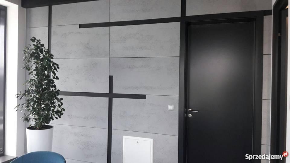Beton architektoniczny płyty z betonu 1 w Polsce wewnętrzne Ściany i elewacje Kraków