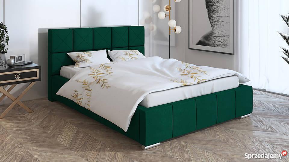 łóżko Tapicerowane Lizbona 160x200 Stelaż Pojemnik