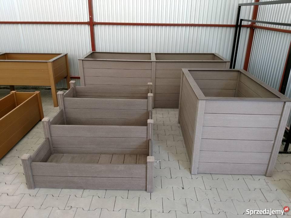 Donica Z Kompozytu Drewna 4040 Wpc