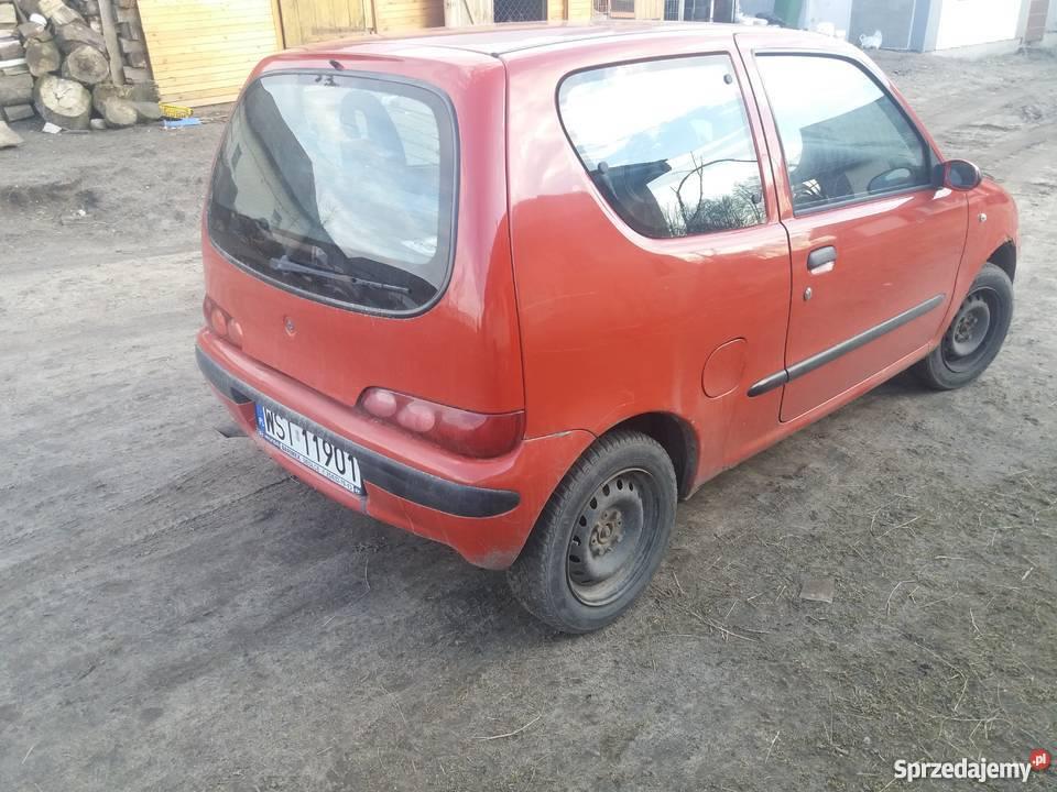 Fiat Seicento autoalarm mazowieckie Siedlce