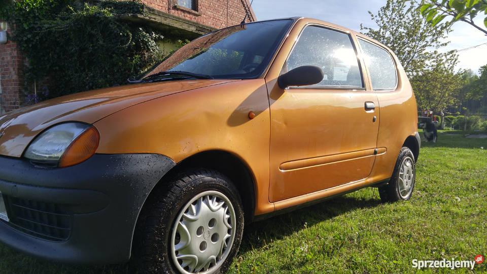 Fiat Seicento Young 2000r pojemność 900