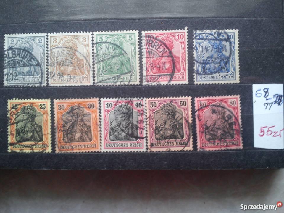 Stare znaczki pocztowe niemieckie