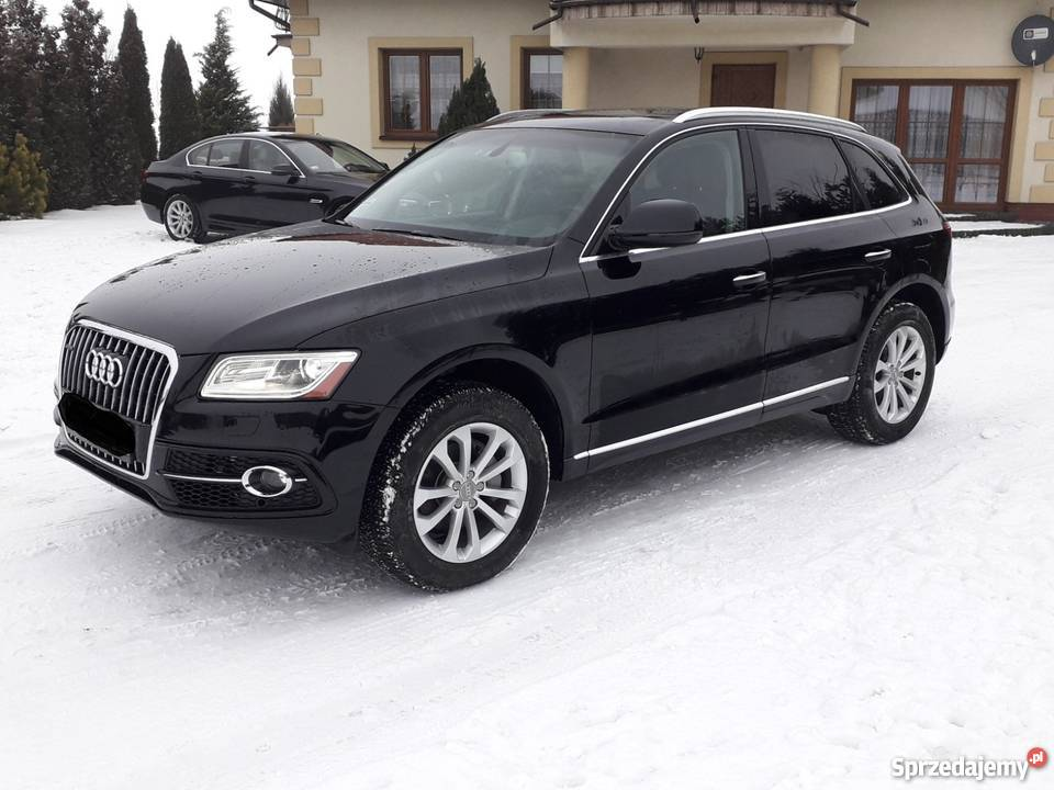 audi q5 2016 r quattro czarny 24000 km elech w. Black Bedroom Furniture Sets. Home Design Ideas