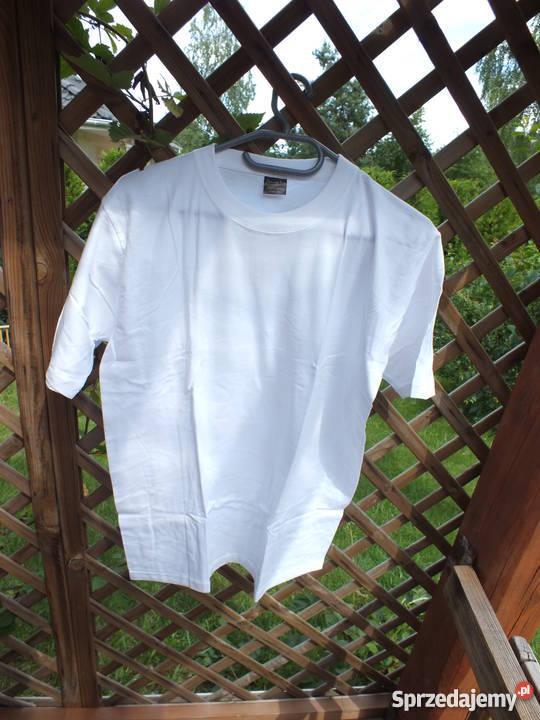 Białe koszulki Rozmiar M Warszawa