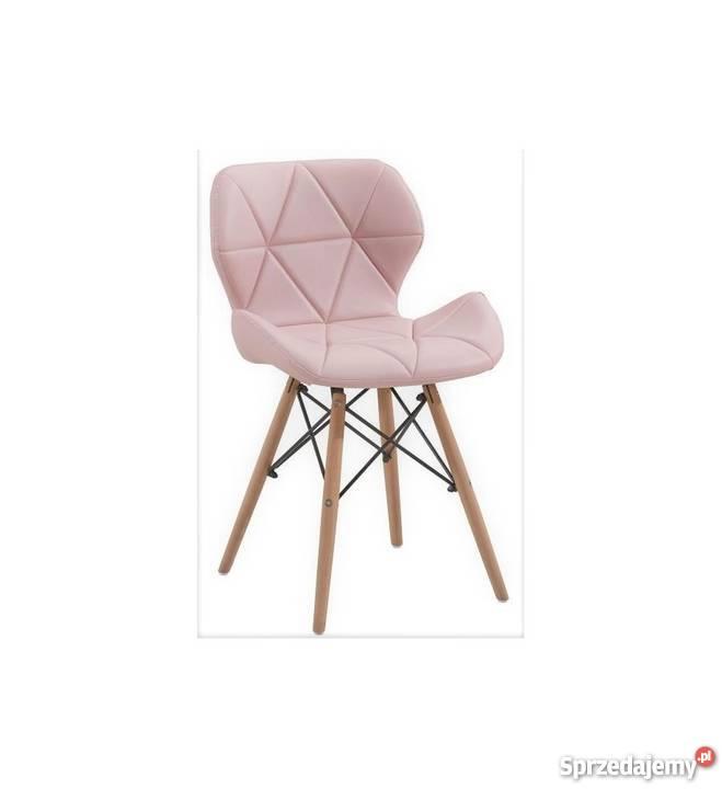 Nowoczesne pikowane krzesło Milo 8 kolorów dolnośląskie