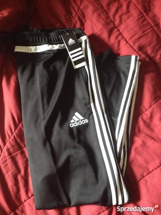 wysoka moda sprzedawca hurtowy wylot Sprzedam nowe spodnie adidas tiro 15