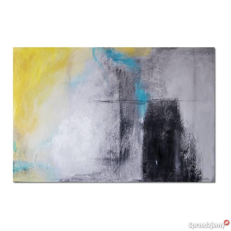 Abstrakcja XZS obraz ręcznie malowany