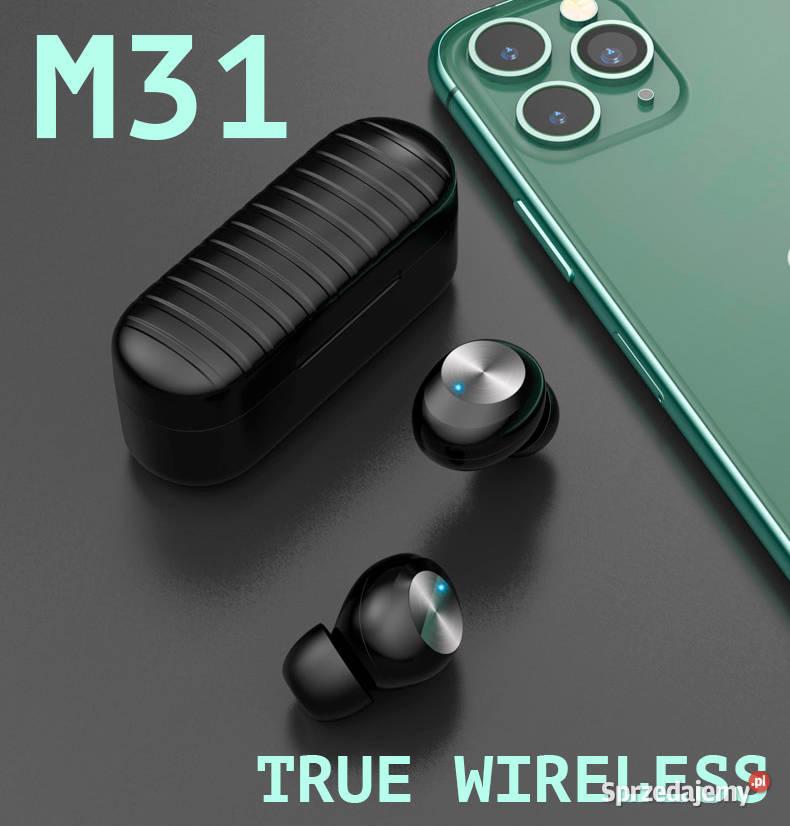 M31 słuchawki dotykowe bezprzewodowe bluetooth 5.0 TWS