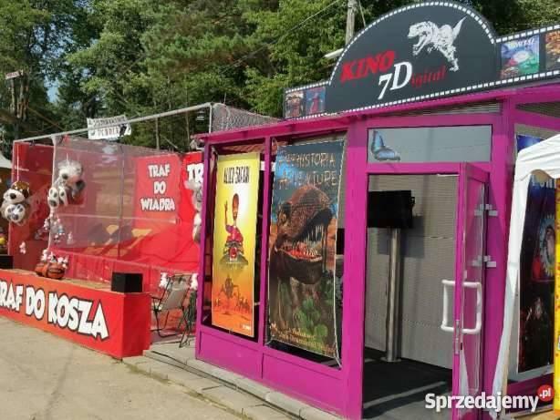 Sprzedam kino 7 D 8osobowe dożywotnia licencja Zakopane