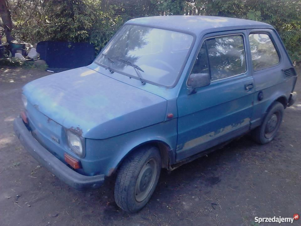 Fiat 126p Fl maluch bez prawa rejestracji całość Samochody osobowe mazowieckie Mińsk Mazowiecki sprzedam