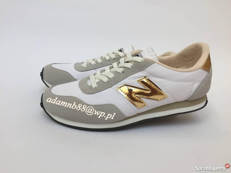 Białe złote balance 410 Rozmiar 41 265 Wyprzedaż kolorowy Warszawa sprzedam 8547ae1f54e96