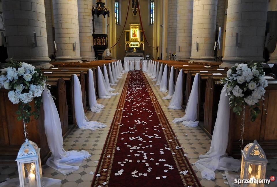 Inne rodzaje dekoracja kościoła na ślub cena - Sprzedajemy.pl SK03